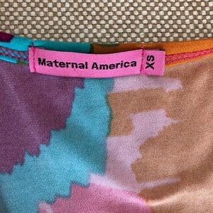 Maternal America Dresses - Maternal America dress XS tie back